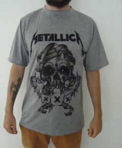 Camiseta Sublimada - Metallica - XXX