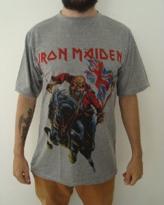 Camiseta Sublimada Iron Maiden - Made in England
