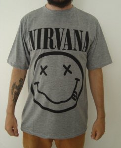 Camiseta Sublimada - Nirvana