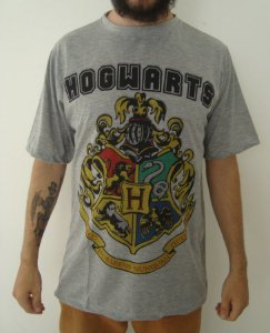 Camiseta Sublimada - Harry Potter - Hogwarts