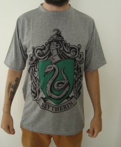 Camiseta Sublimada - Harry Potter - Sonserina