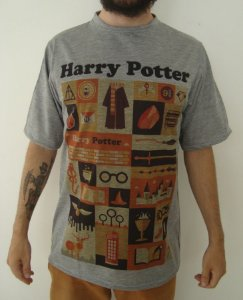 Camiseta Sublimada - Harry Potter