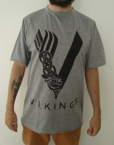 Camiseta Sublimada - Vikings