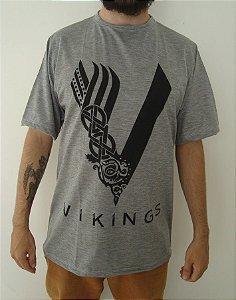 Camiseta Sublimada - Vikings