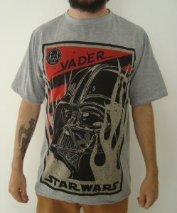 Camiseta Sublimada - Star Wars - Darth Vader