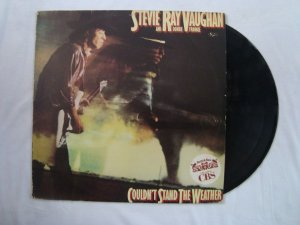 Disco de Vinil - Stevie Ray Vaughan - And double Trouble - Couldn't stand the weather