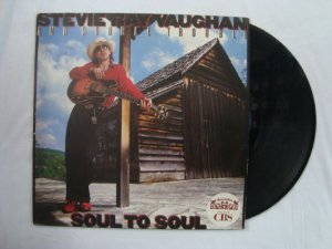 Disco de Vinil - Stevie Ray Vaughan - Soul to Soul