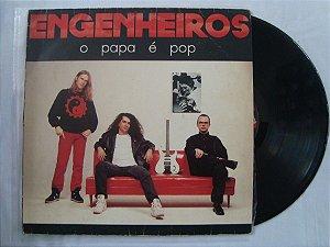 Disco de Vinil - Engenheiros do Hawaii - O papa é pop