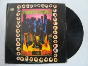 Disco de Vinil - Cicus of Power - Vices