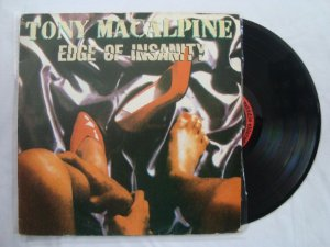 Disco de Vinil - Tony Macalpine - Edge of Insanity