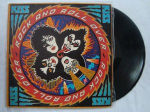 Disco de Vinil - Kiss - Rock and Roll Over