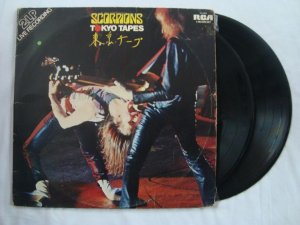 Disco de Vinil - Scorpions - Tokyo Tapes