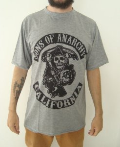 Camiseta Sublimada Sons of Anarchy - Califórnia