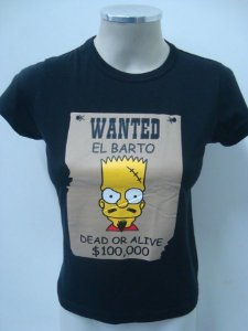 Baby look - The Simpsons - Wanted El Barto