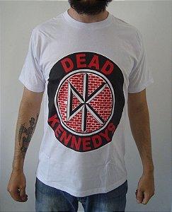 Camiseta Dead Kennedys Branca