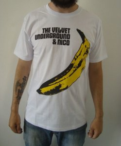 Camiseta The Velvet Underground and Nico