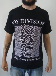 Camiseta - Joy Division - Unknown Pleasures