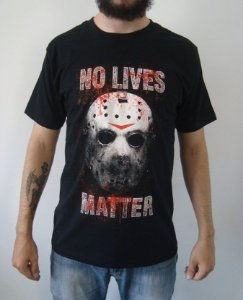 Camiseta Sexta-feira 13 - Jason - No Lives Matter