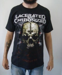 Camiseta Lacerated and Carbonized - Condition Red