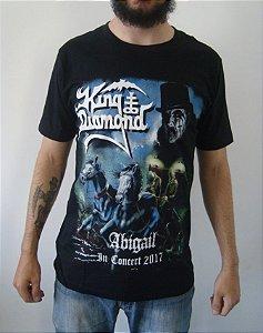 Camiseta King Diamond - Abigail In Concert 2017