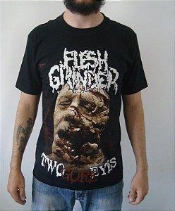 Camiseta Flesh Grinder - Two Gore Eyes