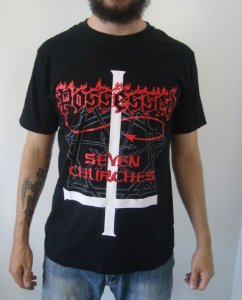 Camiseta Possessed - Seven Churches