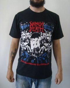 Camiseta Napalm Death - From Enslavement to Obliteration