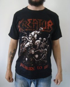 Camiseta Kreator - Pleasure to Kill