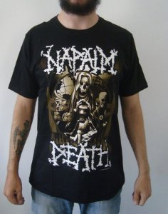 Camiseta Napalm Death