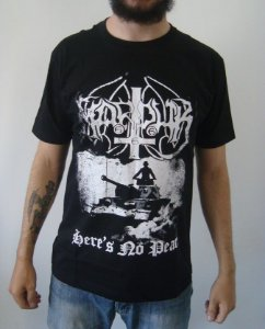 Camiseta Marduk - Here's no Peace