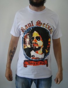 Camiseta Raul Seixas - Rock and Roll