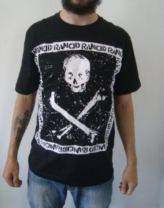 Camiseta da banda Rancid