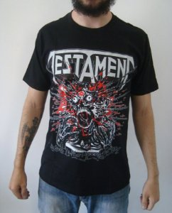 Camiseta Testament - Return to the Apocalyptic City