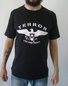Camiseta Terror - Life and Death