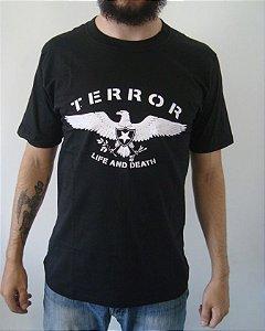 Camiseta Terror - Life and Death