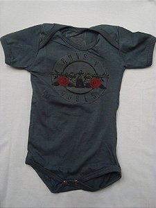 Body para bebês - Guns and Roses
