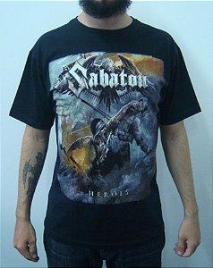 Camiseta Sabaton - Heroes