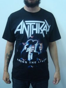 Camiseta Anthrax - Among the Living