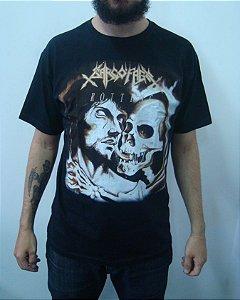 Camiseta Sarcófago - Rotting