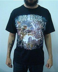 Camiseta Iced Earth - Dystopia