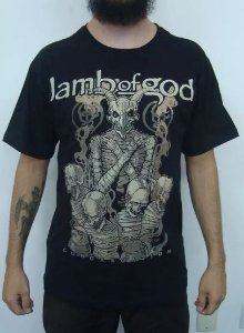 Camiseta Lamb of God - Congregation