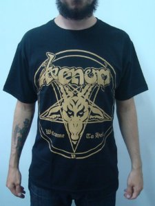 Camiseta Venom - Welcome to Hell