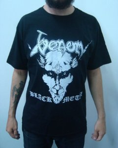 Camiseta Venom - Black Metal
