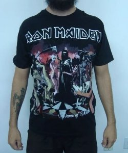 Camiseta Iron Maiden - Dance of Death