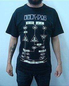 Camiseta Led Zeppelin - Black Dog