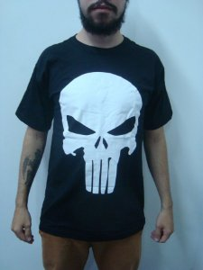 Camiseta - Justiceiro - Punisher