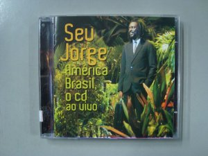 CD Seu Jorge - America Brasil - O CD - Ao vivo