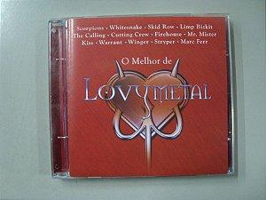 CD - O melhor de Lovy Metal - Coletânea