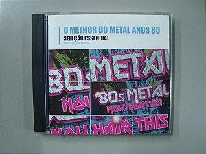 CD O melhor do Metal anos 80