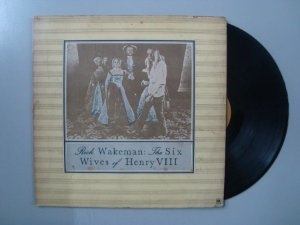 Disco de vinil - Rick Wakeman - The Six Wives of Henry VIII